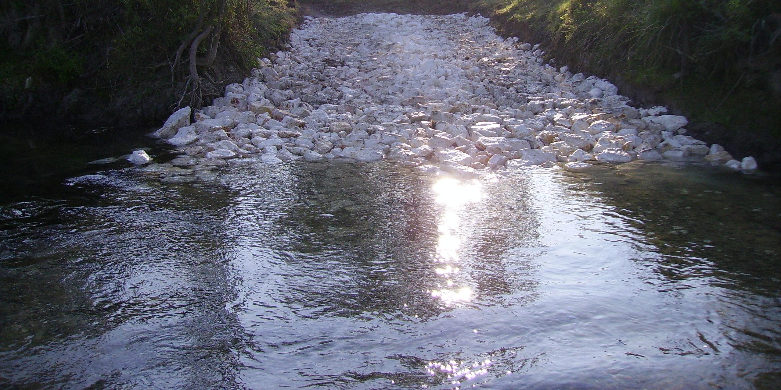 Passage à gués - Rétablissement continuité écologique - CHOGNOT