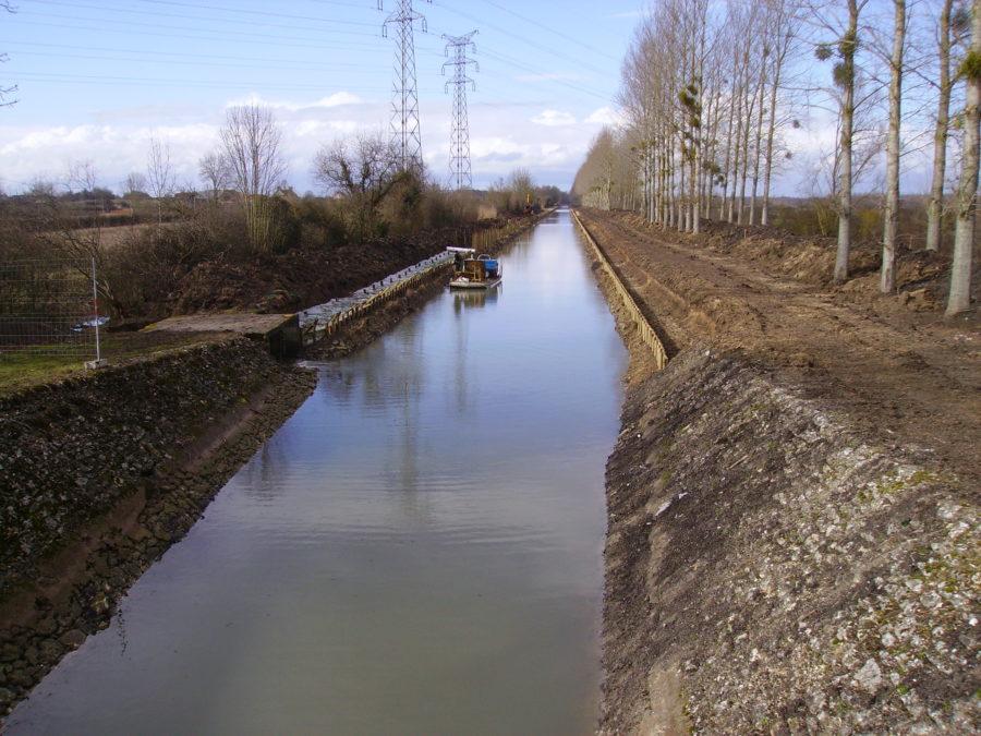 Tunage, canal de Berry - Chognot